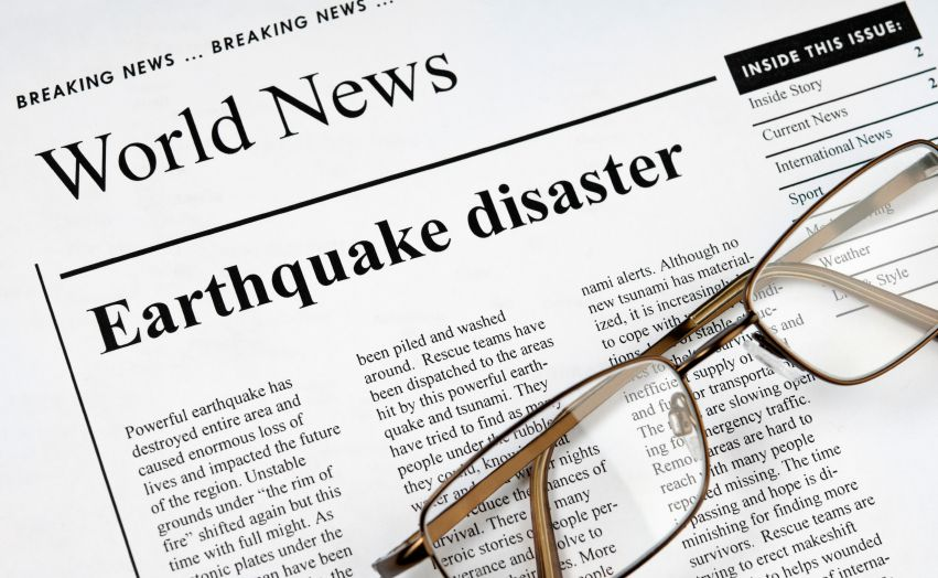 Earthquake News